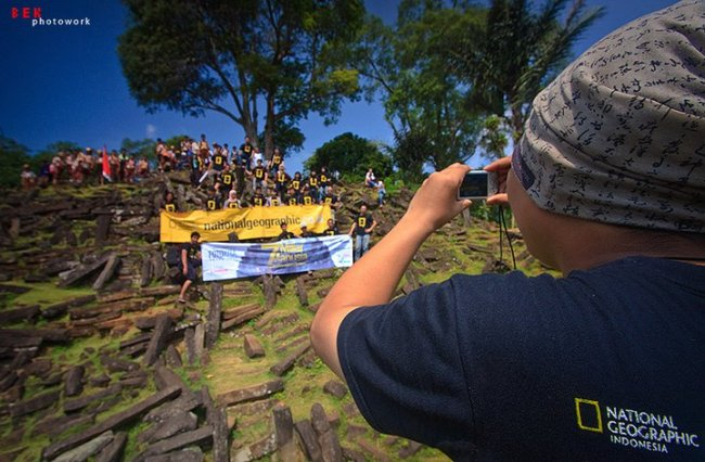 NatGeo Indo Goes to Gunung Padang