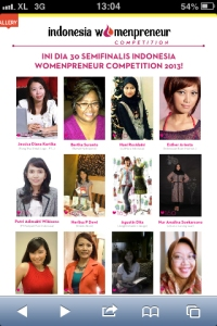 Indonesia Womenpreneur Competition Begins!
