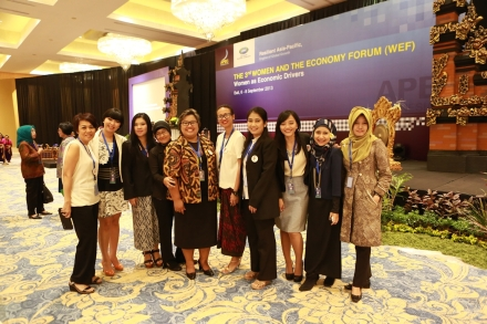 APEC WEF 2013 in Bali: The Forums & Gala Dinner